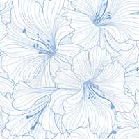 Floral seamless pattern. Flower background. Floral seamless text