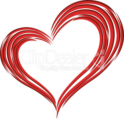 Red Heart Love Symbol