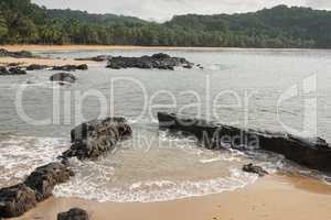 Praia Coco auf Principe Island, Sao Tome und Principe, Afrika