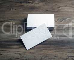 Blank bussiness cards