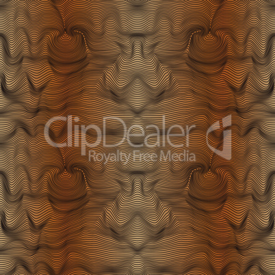 Abstract seamless pattern in brown hues with gradient