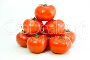Tomato pyramid well red