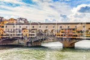 Famous bridge Ponte Vecchio