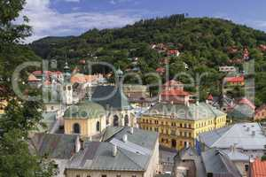 Historic mining town Banska Stiavnica, Slovakia