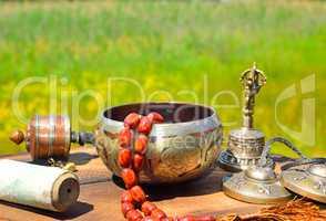 Religious Asian subjects for alternative medicine