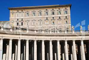 The Apostolic Palace (Palazzo Apostolico), the official residenc