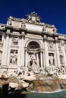 The Trevi Fountain (Italian: Fontana di Trevi), Rome, Italy