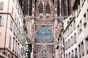 Notre Dame cathedral in Strasbourg