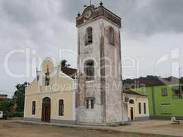 Kirche von Santo Antonio, Principe Island, Sao Tome and Principe, Afrika