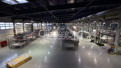 Production conveyor, conveyor line, conveyor belt, ceramic tile, kiln firin, Production of ceramic tiles, production interior, Ceramic tile factory, modern production interior