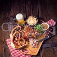 Fresh knuckle prepared for Oktoberfest