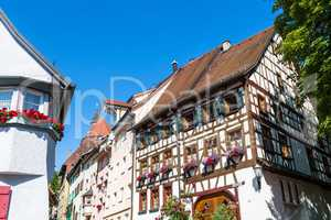 half timbered house in Rottweil