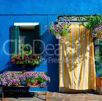Blue house on Burano
