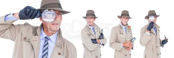 Detective collage