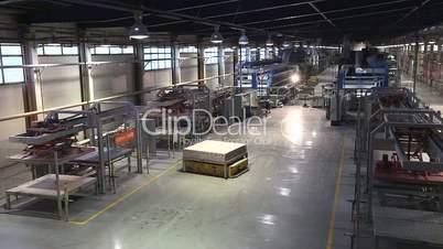 Production conveyor, conveyor line, conveyor belt, ceramic tile, kiln firin, Production of ceramic tiles