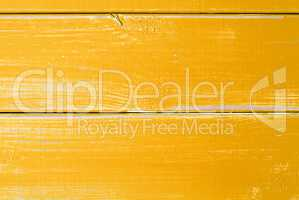 Yellow Wooden Slats Background With Copy Space