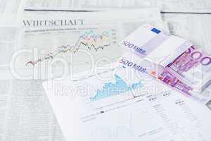 Wirtschaft Börse Geld