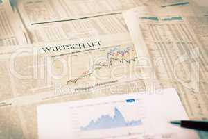 Wirtschaft Zeitung Aktien