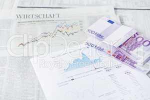 Wirtschaft Zeitung Geld