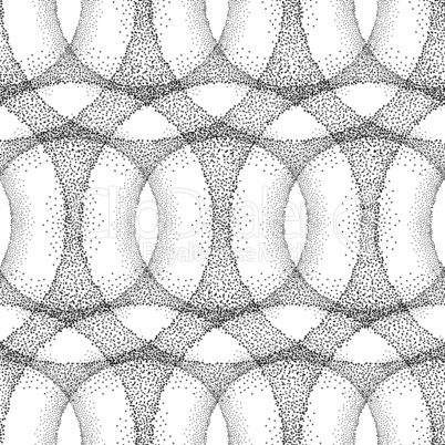 Dot tiled pattern Abstract linear circle texture