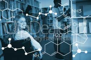 Composite image of composite image of chemical structure