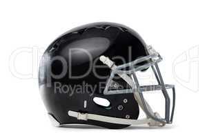 Close up of black sports helmet