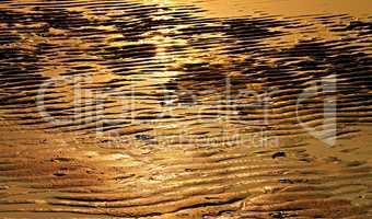 ebbe am goldenen Sandstand