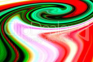 Spirale in Bewegung