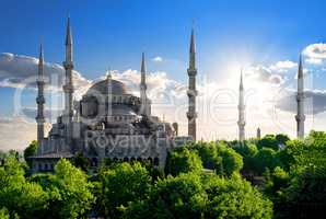 Famous Blue Mosque