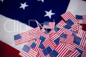 Full frame shot of flags