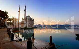 Historical Ortakoy Mosque