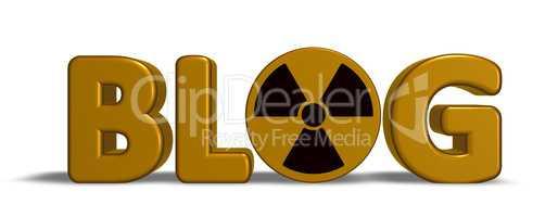radioaktiver blog