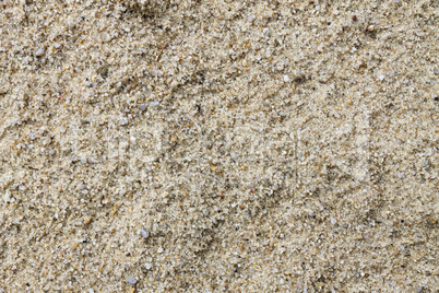 Sand. Abstract background, building material or beach