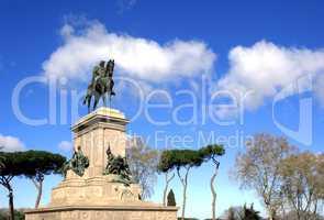 Garibaldi equestrian Monument