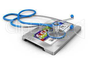 ssd and stethoscope