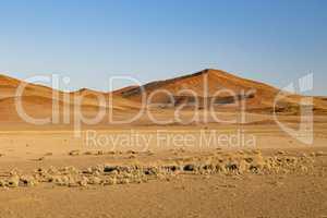 Sanddünen in Sossusvlei, Namibia, sand dunes in Sossusvlei, Nam