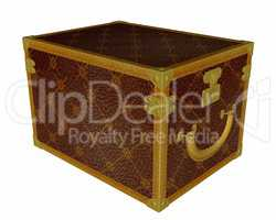 Vintage jewelry box - 3D render