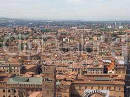 Aerial view of Bologna