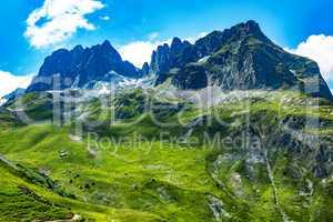 French Alps col du glandon