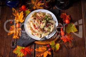 Potato dumpling originating from Poland