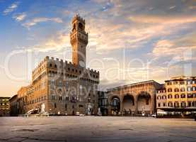 Square of Signoria in Florence