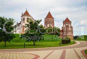Ancient medieval castle