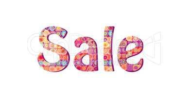 Sale sign. Season sale icon. Colorful tag