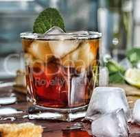 Rum refreshment alcoholic drink