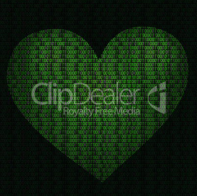 Imaginative cyber heart