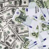 Fake dollars and euros