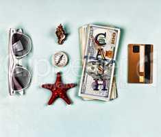 Set, mock-up - Concept: travel agency