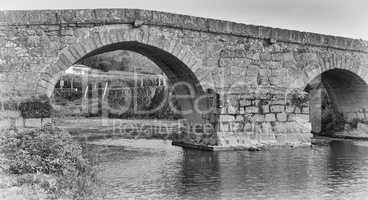 Römische Brücke von Arcos, Portugal