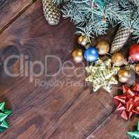 New Year background, decor, Christmas.