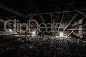 dachboden in fabrik